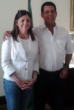 Roseana Sarney e Raimundo da Audiolar