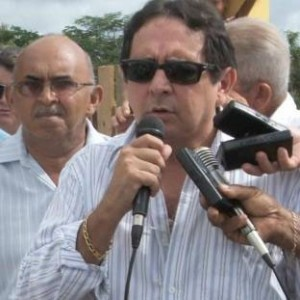 O prefeito de São Benedito do Rio Preto, Creomar Mesquita. Foto: Reprodução