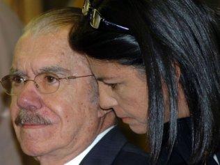 Sarney e sua filha Roseana