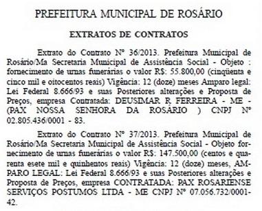 Prefeitura de Rosário