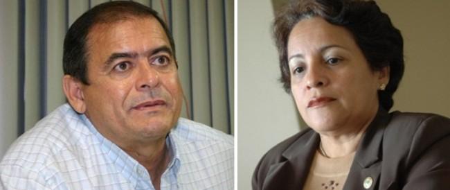 Ex-gestores Humberto Coutinho (Caxias) e Socorro Waquim (Timon)