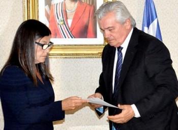 Governadora Roseana Sarney e o presidente da Assembleia, Arnaldo Melo