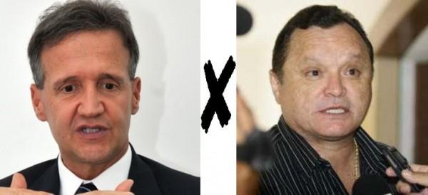 Secretário Aluísio Mendes e o ex-deputado Paulo Neto disputam vaga na AL em 2014