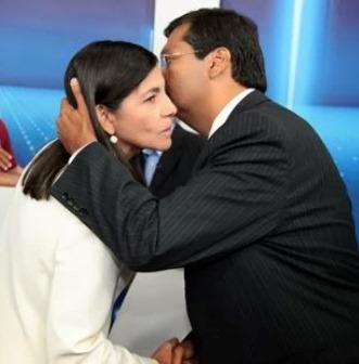 Roseana Sarney e Flávio Dino