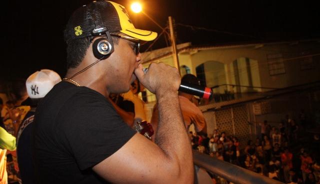 Vocalista Bruno Shinoda, da banda Swingart SL