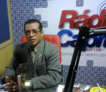 Radialista Renato Souza