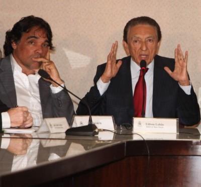 Suplente Edinho e o pai Edison Lobão, ministro de Minas e Energia