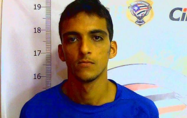Eudes Barboza Silva Neto: entrou no sistema em julho de 2013 e responde por furto
