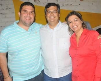 Fábio Macedo, Flávio Dino e Rosângela Curado