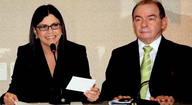 Governadora Roseana Sarney e o seu chefe da Casa Civil, João Abreu