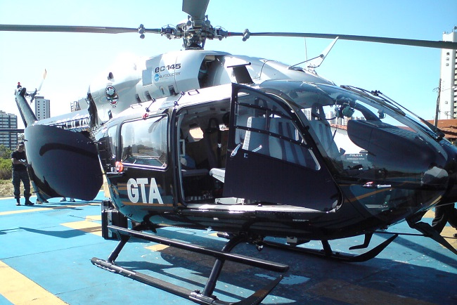 Helicóptero EC145