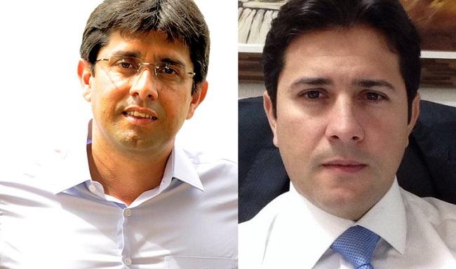 Advogados Márcio Coutinho e Gilson Barros