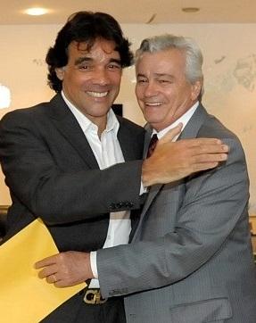 Edinho Lobão e Arnaldo Melo
