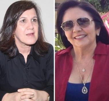 Secretária Olga Simão e a prefeita Tina Monteles (Anapurus-MA)