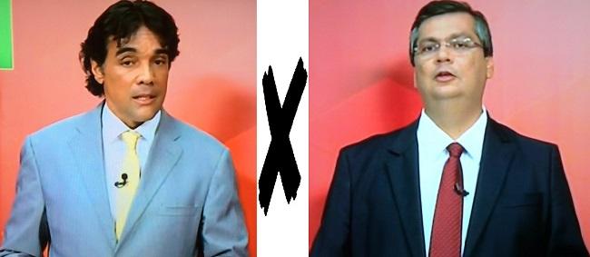 Candidatos ao Governo do Maranhão, Edinho Lobão e Flávio Dino