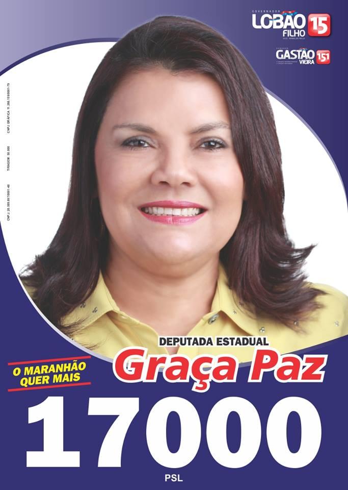 Deputado Estadual Graça Paz - 17000