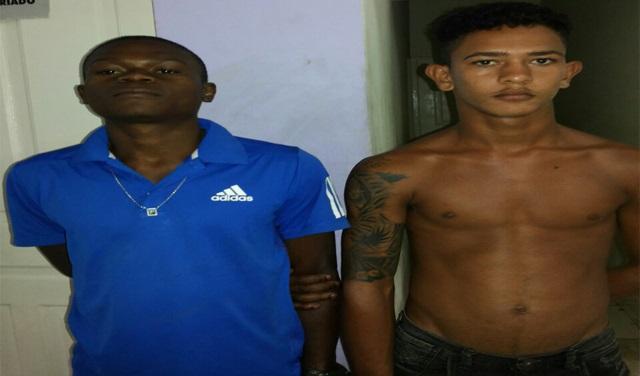 """Rafael de Jesus Morais, conhecido como """"De Menor"""", e Wilson Cruz Fernandes, o """"Macaco"""""""