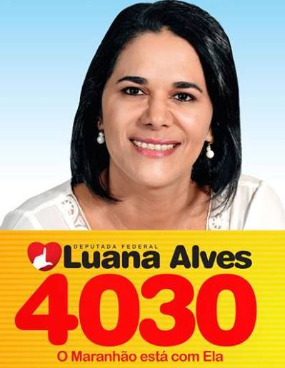 Deputado Federal Luana Alves - 4030